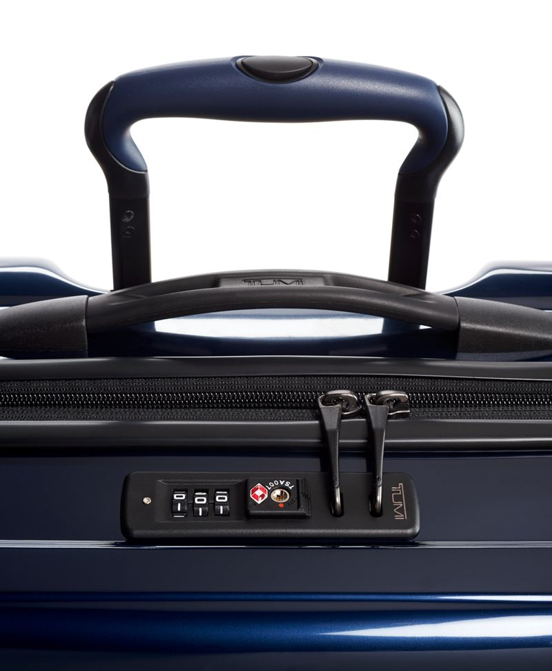 日蝕藍可擴充洲際四輪手提行李箱