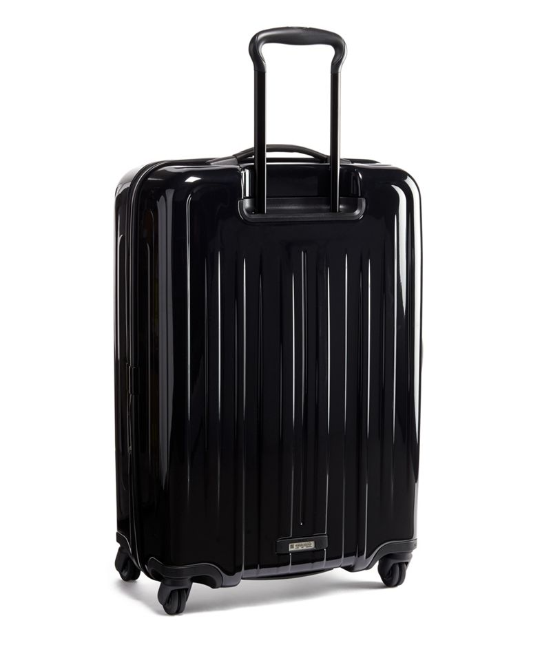 Black Short Trip Expandable 4 Wheeled Packing Case