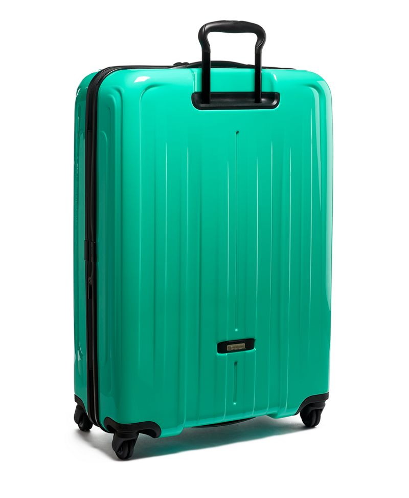 Sea  Green Extended Trip Expandable 4 Wheeled Packing Case