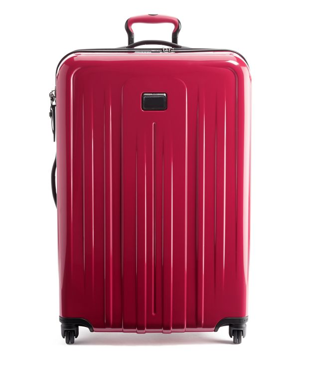Extended Trip Expandable 4 Wheeled Packing Case in Raspberry