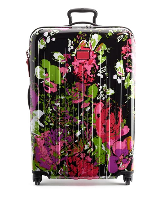 Extended Trip Expandable 4 Wheeled Packing Case in Collage Floral