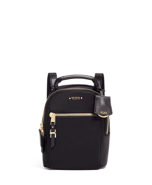 Serra Mini Convertible Backpack in Black