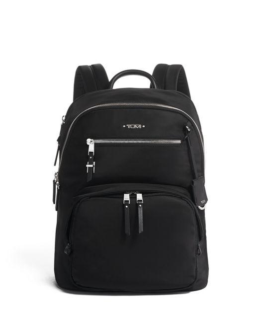 Hartford Backpack in Black/Silver