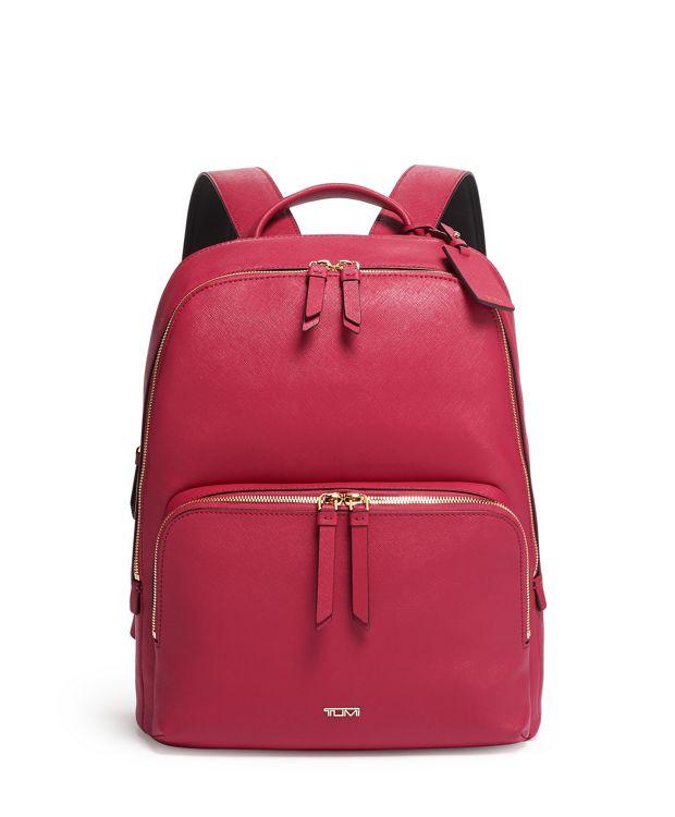 Hudson Backpack in Raspberry