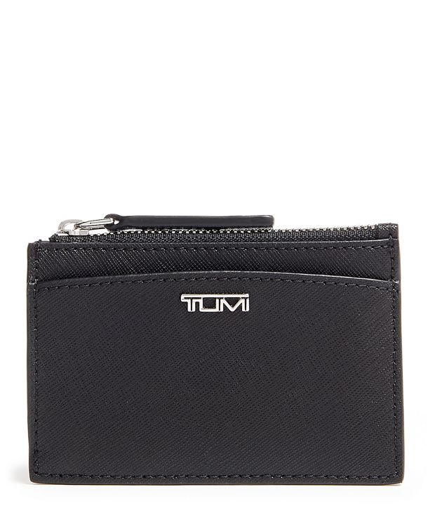 Zip Card Case in Black