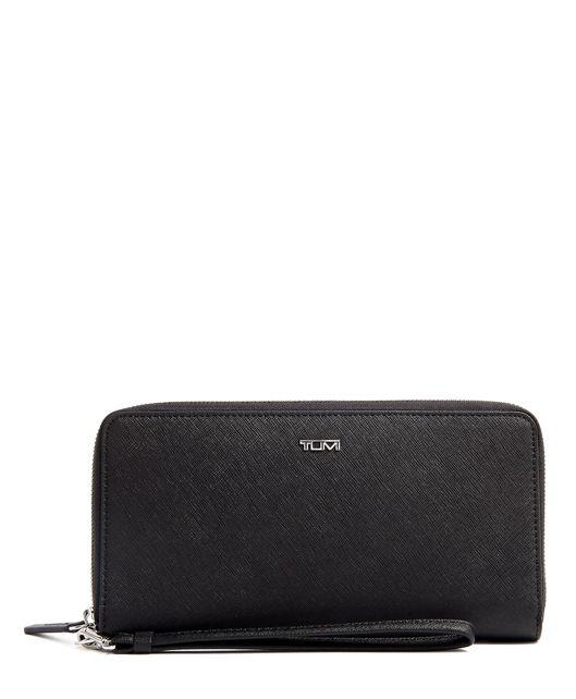 Travel Wallet in Black