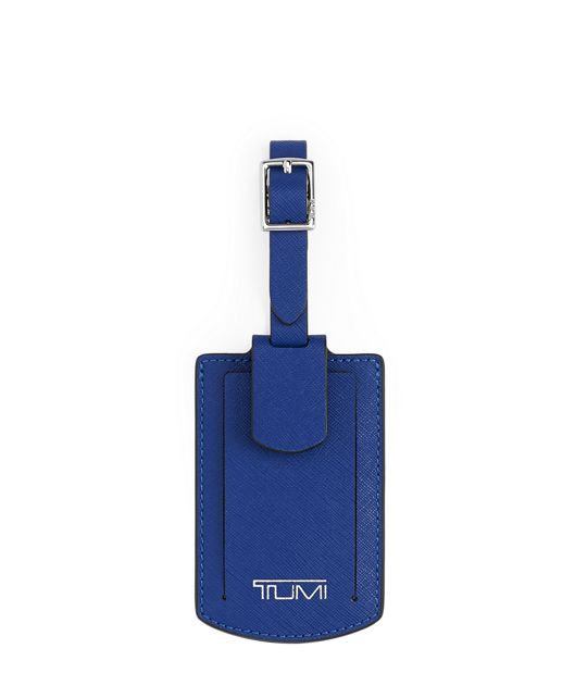 Luggage Tag in Cobalt