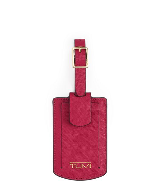 Luggage Tag in Raspberry