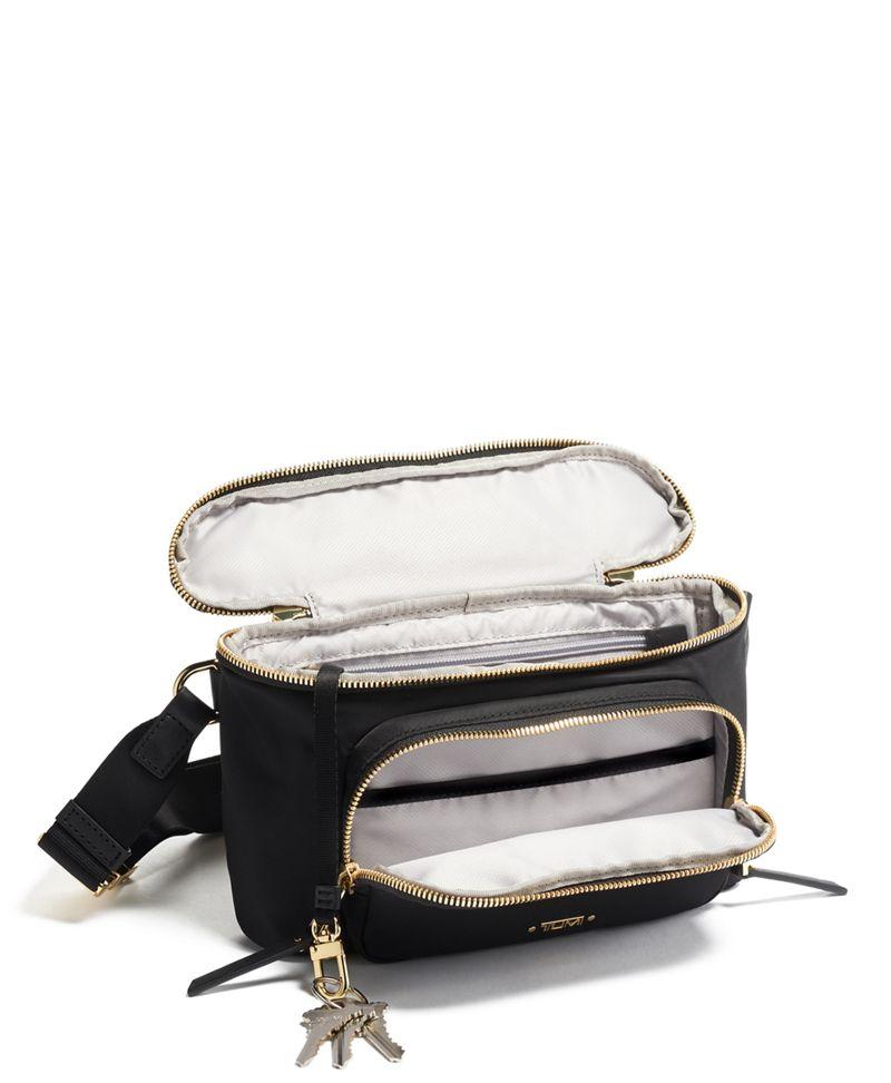 Black Madison Hip Bag