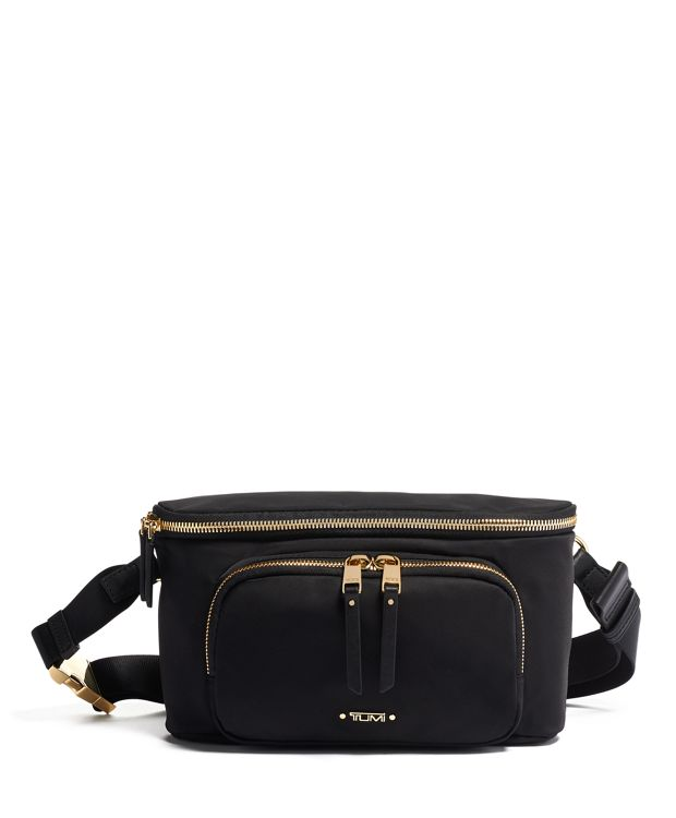 Madison Hip Bag in Black
