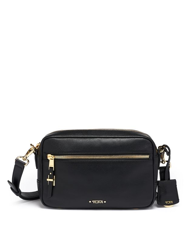 Florence Crossbody Leather in Black