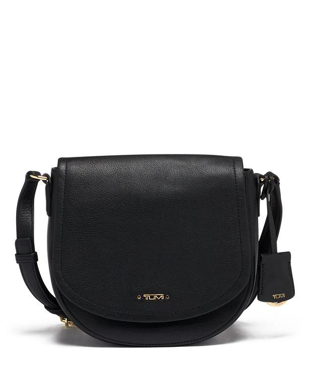 York Crossbody Leather in Black