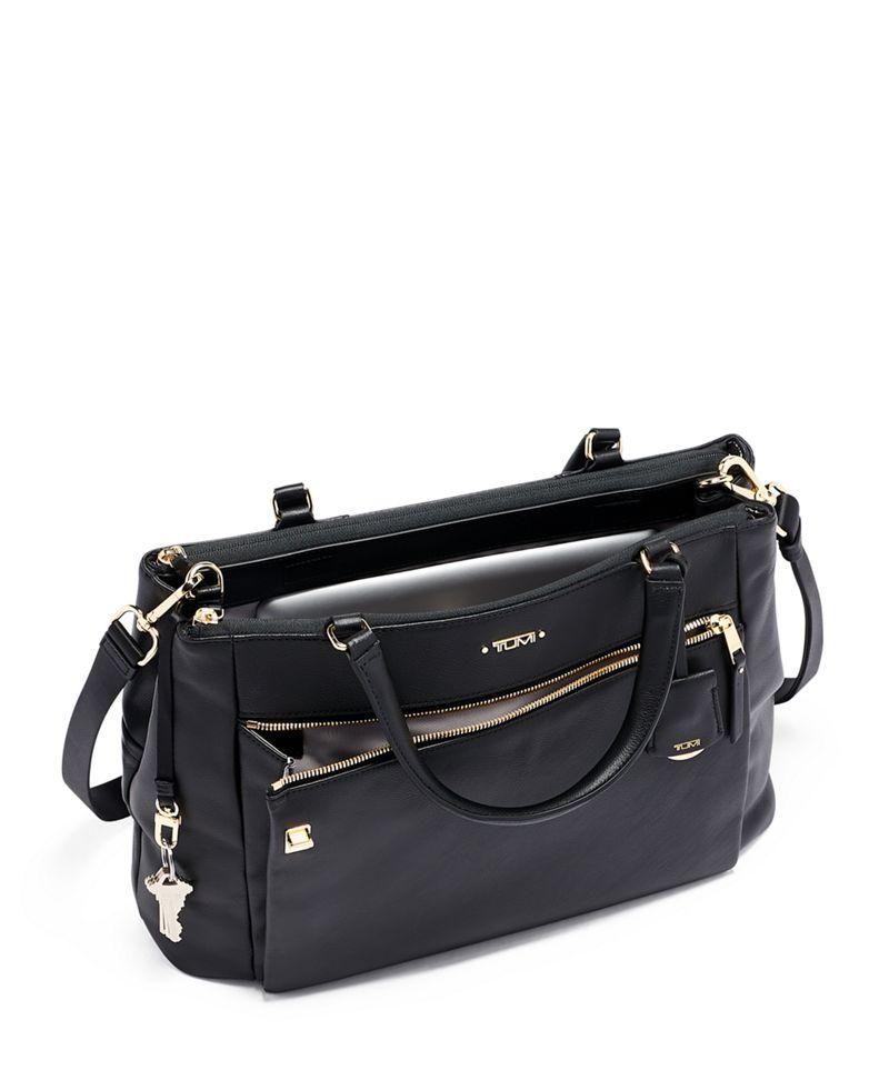 Sheryl 小型商務皮革手提袋