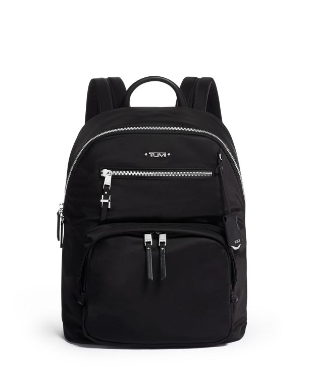 Harper Backpack in Black/Silver