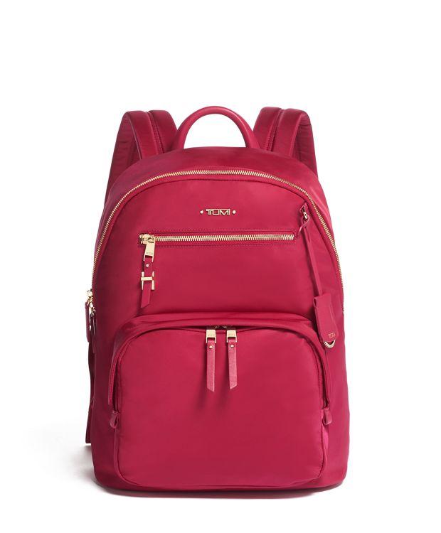 Harper Backpack in Raspberry