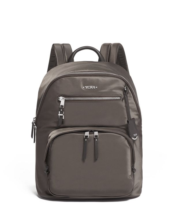 Harper Backpack in Mink/Silver