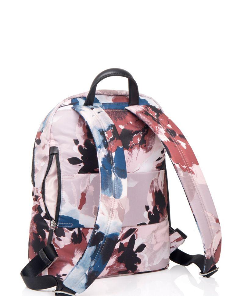 胭脂花卉圖案Harper 背囊