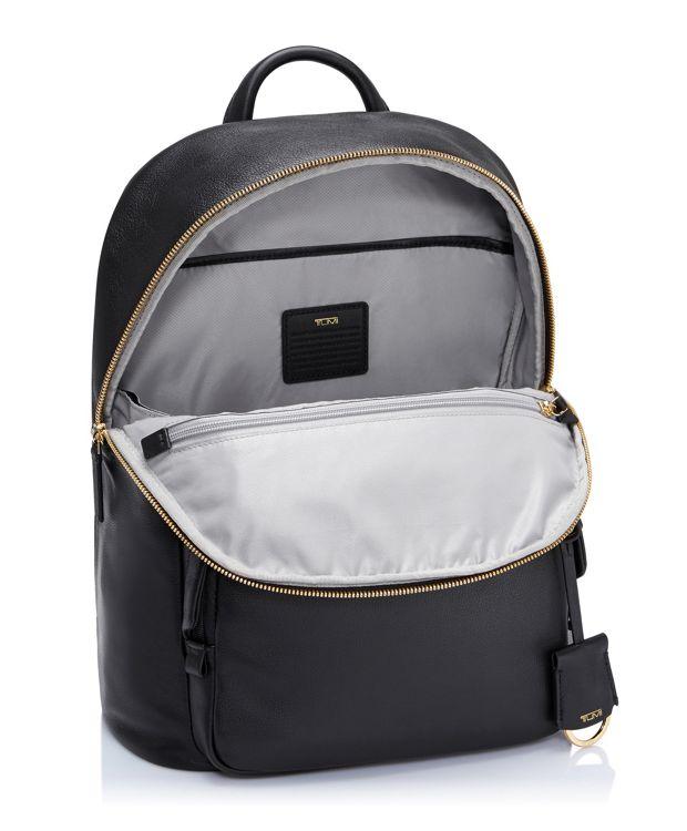 Black Harper Backpack Leather