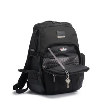 Nathan Expandable Backpack In Black