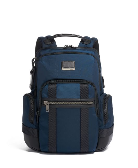 Nathan Expandable Backpack in Navy