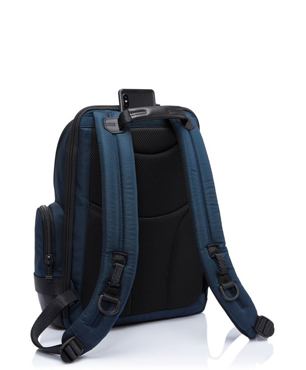 Navy Norman Backpack