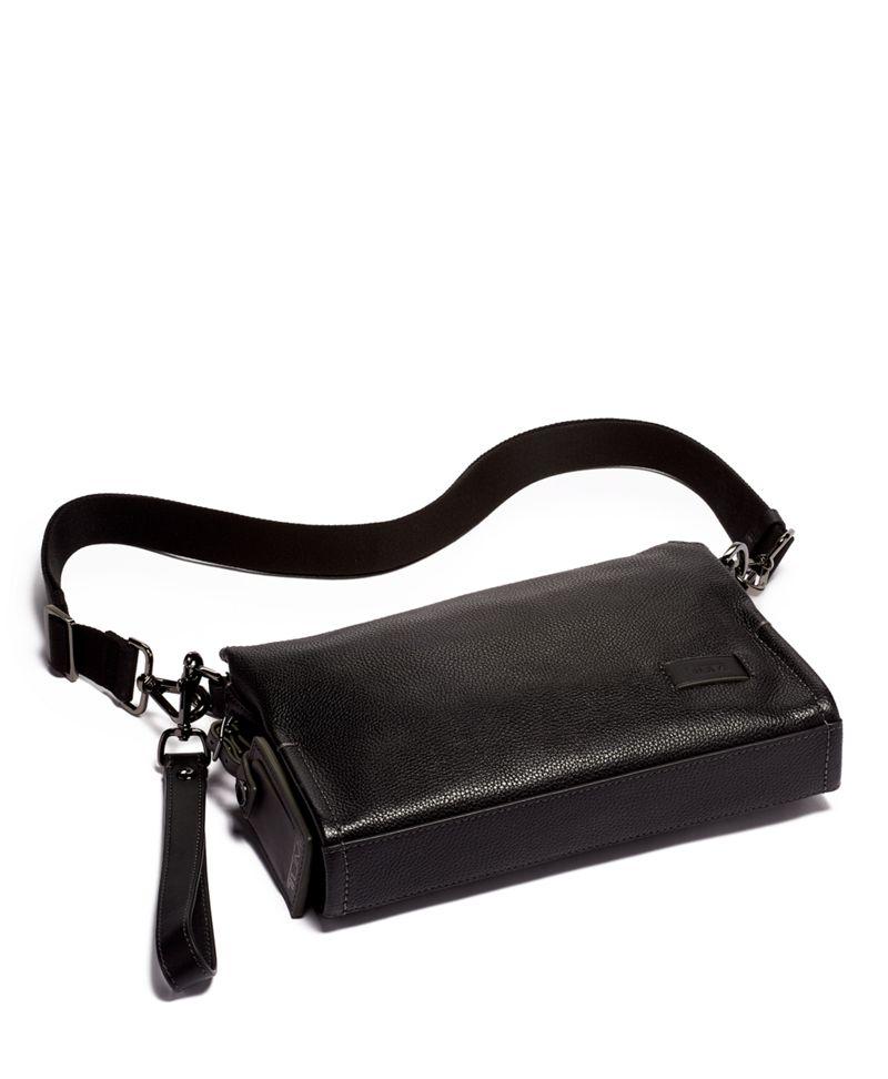 Sterling 皮革斜揹袋