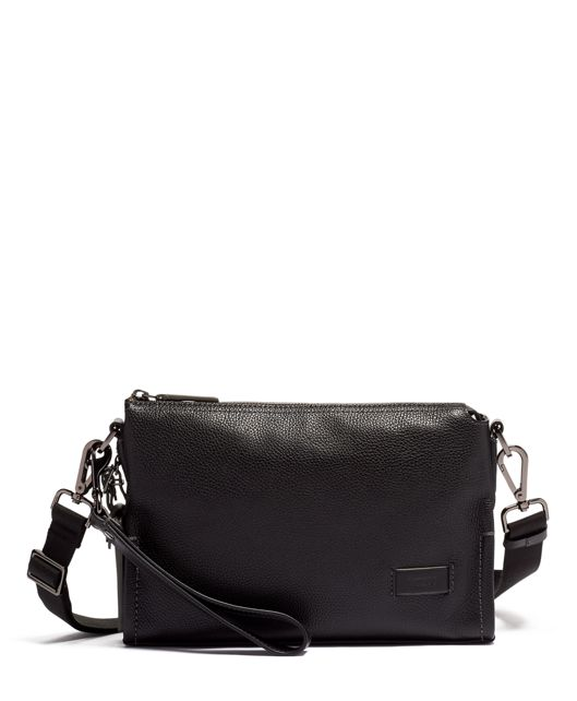Sterling Crossbody Leather in Black