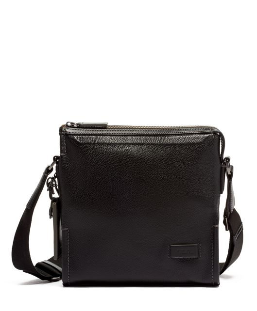 Shelton Crossbody Leather in Black