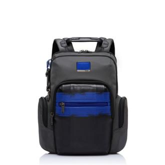 NORMAN BACKPACK BRUSHED BLUE - medium | Tumi Thailand