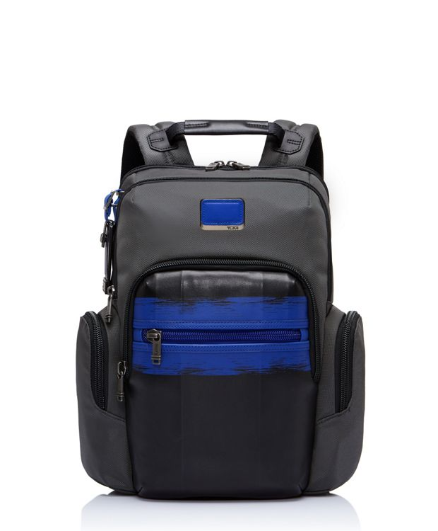 Norman Backpack in Brushed  Blue