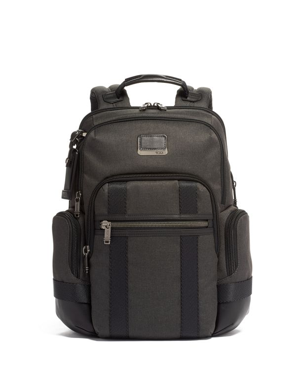 Nathan Expandable Backpack in Graphite