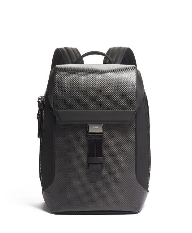 Dolton Flap Backpack in Carbon
