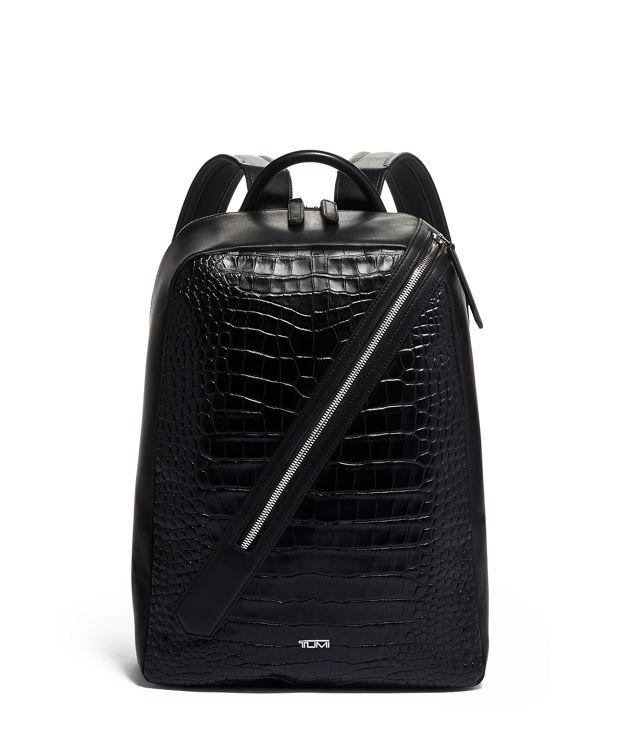Lorenzo Backpack in Black Croc