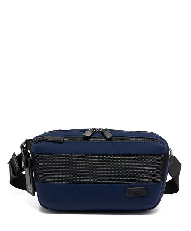 Daniel Utility Pouch in Navy Reflective