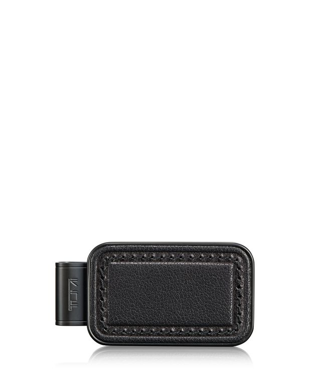 Monogram Patch Money Clip in Black