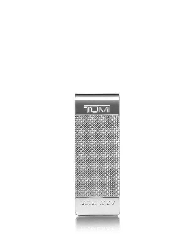 Ballistic Etched Money Clip in Silver
