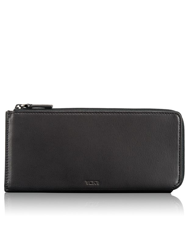 Zip Tech Wallet in Black