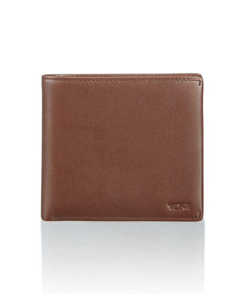 Global Center Flip Coin Wallet