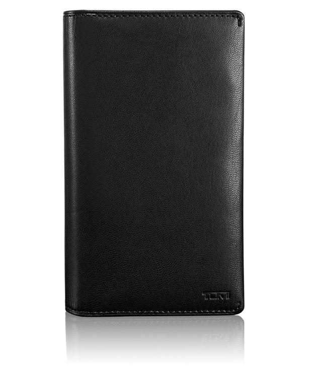 Large Tech Wallet in Black