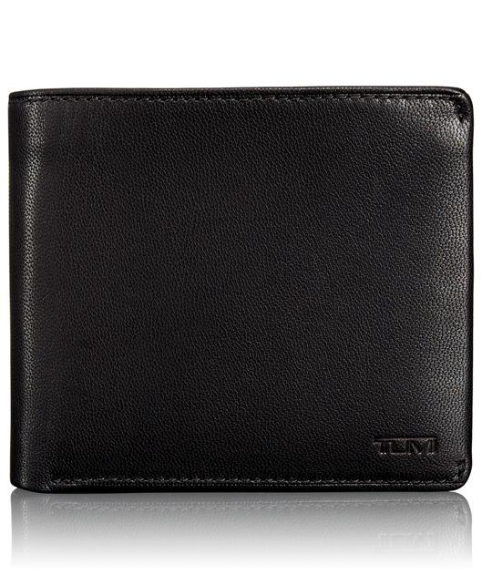 TUMI ID Lock™ Global Center Flip ID Passcase in Black