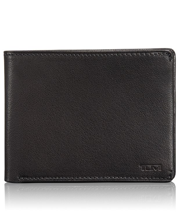 TUMI ID Lock™ Global Double Billfold with ID in Black