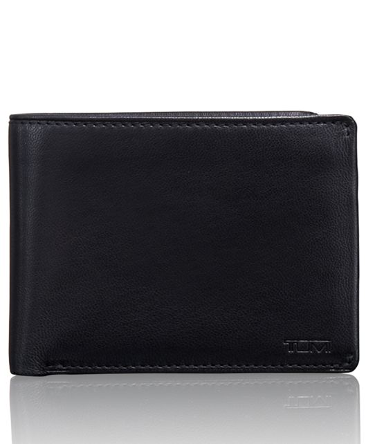 TUMI ID Lock™ Double Billfold with ID in Black