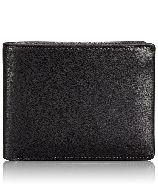 TUMI ID Lock™ Removable Passcase ID Wallet in Black