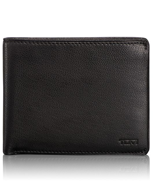 TUMI ID Lock™ Global Coin Wallet in Black
