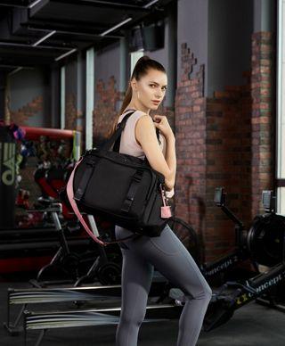黑Charlotte健身包
