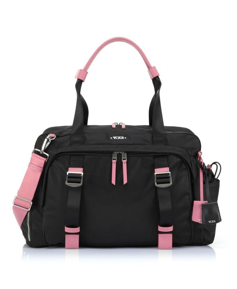 黑/粉红Charlotte健身包