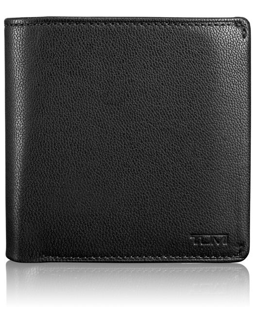 TUMI ID Lock™ Compact Flip Coin Wallet in Black