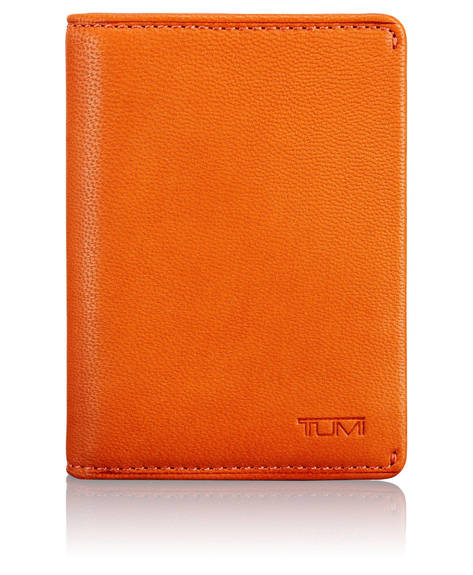 tumi id lock™ gusseted card case  chambers  tumi united states