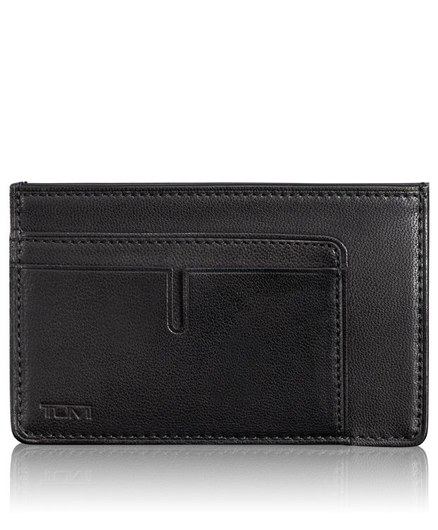 TUMI ID Lock™ Long Card Case in Black