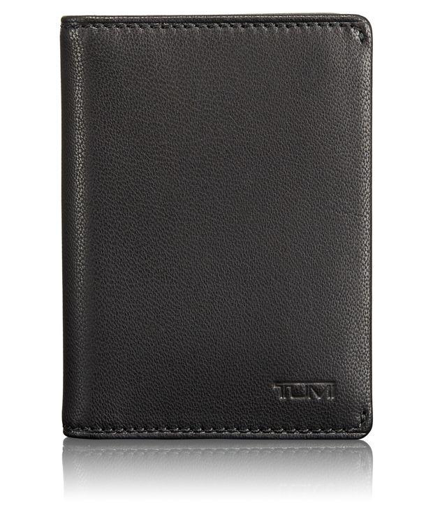 TUMI ID Lock™ Folding Card Case in Black
